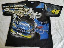 Vintage Nascar Chase Authentic jimmie Johnson t shirt size large very rare