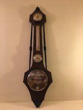 Orologio Muro Datario Perpetuo Igrometro Barometro Termometro Vintage Design