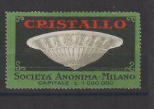 Italian Poster Stamp Lamp