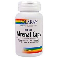 Solaray, Adrenal Caps, 60 Capsules