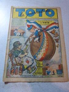 LE JOURNAL DE TOTO ,N° 159 JEUDI 21 mars  1940 (cai01)