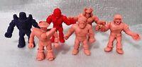 M.U.S.C.L.E. Muscle Men Vintage Mini Figures Lot Of 6 80s Mattel Kinnikuman