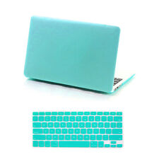 Rubberized Snap-On Hard Case Keyboard Cover MacBook Pro 13/15 Air 11/13 inch 12""