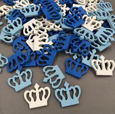 DIY  100Pcs Wooden Mini Crown Scrapbooking Home Decorations 23MM