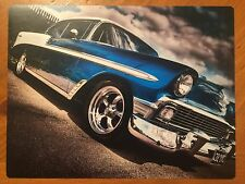 Tin Sign Vintage 56 Chevy