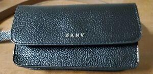 DKNY BELT BAG BLACK FANNY PACK/Wristlet XLARGE MSRP $54.00