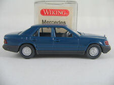 Wiking 12153 Mercedes-Benz 260 E Limousine (1984) in capriblau 1:87/H0 neuw./OVP