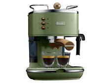 Espresso Maschine Siebträger Kaffee Maschine Delonghi grün B-Ware Vorführer