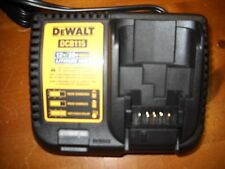 Dewalt DCB115 12V-20V MAX Lithium Battery Charger For Drill Saw Grinder 20 volt