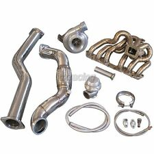 GT35 T4 Turbo Kit Manifold Downpipe For 98-05 Lexus IS300 2JZ-GE NA-T Bolt On