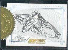 Quotable Star Trek TNG Case Topper SketchaFEX Warbird