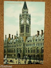 R&L Postcard: Manchester Town Hall, Raphael Tuck (Tuck's)