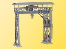 KIBRI HO scale ~ 'RAILWAY CRANE' ~ plastic model kitset #39316