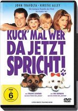 < DVD * KUCK' MAL WER DA JETZT SPRICHT   JOHN TRAVOLTA , KIRSTIE ALLEY # NEU OVP