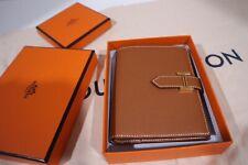 ❤️Brand New w Receipt RARE Hermes Compact Bearn Wallet Gold Hardware Short GHW!!