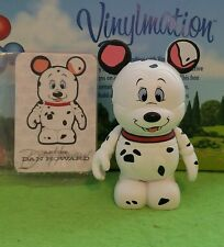 "Disney Vinylmation 3"" Park Set 2 Chaser Pongo 101 Dalmatians with Card"