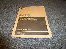 Caterpillar Cat E200B EL200B Hydraulic Excavator 3116T eng Parts Catalog Manual