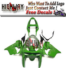 Fairings For Kawasaki Ninja ZX9R ZX-9R 98 1999 Fairing Kit Bodywork Green Silver