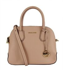 """** MICHAEL KORS """"CINDY"""" Soft  Pink Leather Dome Satchel Bag  Msrp $298.00"""