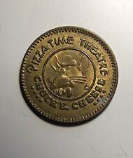 1981 Chucke Cheese Token   25 Cents video token