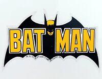 Batman BAT MAN Aufkleber Auto Decal Sticker Fledermaus Bat 11 cm original 1989