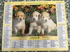 Calendrier 2006 - La Poste - YORKSHIRE - JEUNES LABRADORS