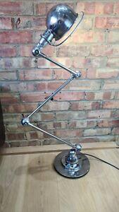 Vintage original Jielde 3-arm articulated standard industrial workshop lamp