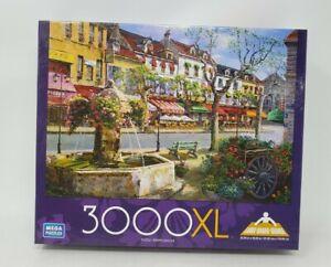 """Mega Puzzles 3000XL Large Grand Rue de Deux Masots 32.25""""x45.25"""""""