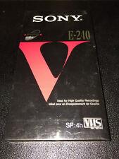 Sony VHS E240vf Premium