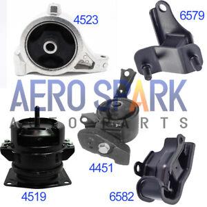 For 2001-2002 Acura MDX 3.5L V6 Engine Motor & Transmission Mount Set 5PCS