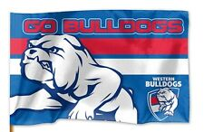 Western Bulldogs AFL medium game day pole flag 90x60cm