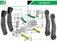 FOR JEEP GRAND CHEROKEE WJ WG FRONT 2 UPPER 2 LOWER CONTROL ARM ARMS BUSH BUSHES