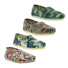 Canvas Multi-Coloured Espadrille Flats for Women
