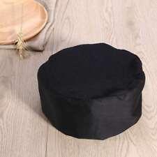 Unisex Kitchen Chef Hat Adjustable Elastic Baker Cap Cook Catering Restaurant
