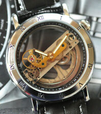 NEW in Box! Fascinating Skeleton Bridge Automatic Watch - Great Holiday Gift!!