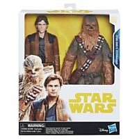"Star Wars Toys R Us Exclusive Chewbacca & Han Solo 10"" BRAND NEW SEALED"