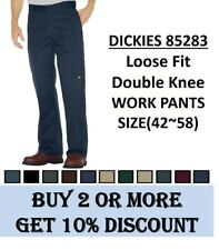 Dickies 85283 Loose Fit Double knee Work Pants Sizes 42 to 58