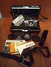 Yashica Electro 35 G GSN 35mm Rangefinder Camera w Yashinon-DX f:1.7 45mm/Extras