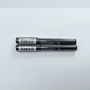 NYX Infinite Shadow Stick #ISS02 Blackout Lot of 20.19 oz Pigmented Eyeshadow