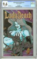 Lady Death The Odyssey #1 CGC 9.6 White Pages 2072311001 Premium Edition
