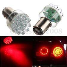 2x 1157 T25 BAY15D 2057 Red 12 LED Car Turn Brake Parking Tail Lights Bulb Lamp