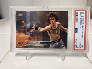2018 Topps Chrome UFC #84 Sean O'Malley ROOKIE CARD PSA 9 MINT 🔥🔥LOW POP