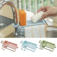 Kitchen Sink Sponge Storage Rack Dish Drain Soap Brush Organizer