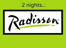 2 Night Stay at any Radisson Hotel Gift Certificate
