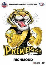 AFL 2019 PREMIERS DVD - RICHMOND Region 4 BRAND NEW & SEALED in Aus!