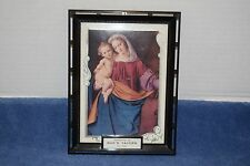 Vintage 1962 Calendar Compliments Of Bud's Tavern Ely, Iowa - Madonna And Child