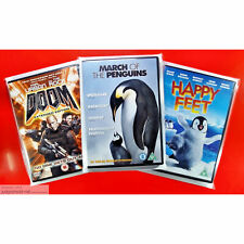 DVD Display Post and Store. New Protective Covers Sleeve Size1 Wraps Clear x 10.