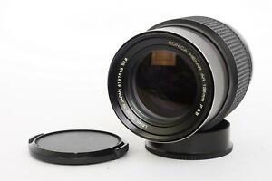 Konica Hexanon AR 135mm f3.5 lens