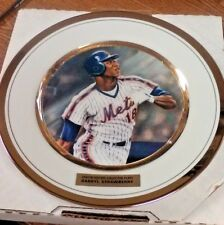 Mlb New York Mets Darryl Strawberry 9 Inch Plate Nice! Collectible (See Photos)