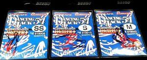 Fishing assist hooks DECOY Dancing Jack DJ-54 x 3 pks / 1 x ss / 1 x s / 1 x M